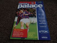 Crystal Palace v Reading, 1996/97